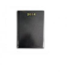 Agenda 2014, A4, saptamanala datata, neagra Herlitz
