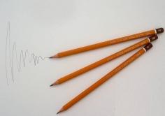 Creion grafit 1500 Koh-I-Noor