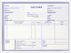 Factura A5 3 ex. fara TVA