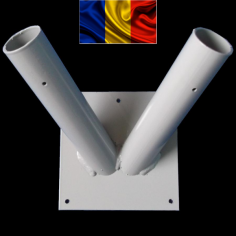 Suport Metalic 2 Drapele