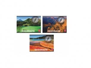 Caiet geografie, 24 file Pigna